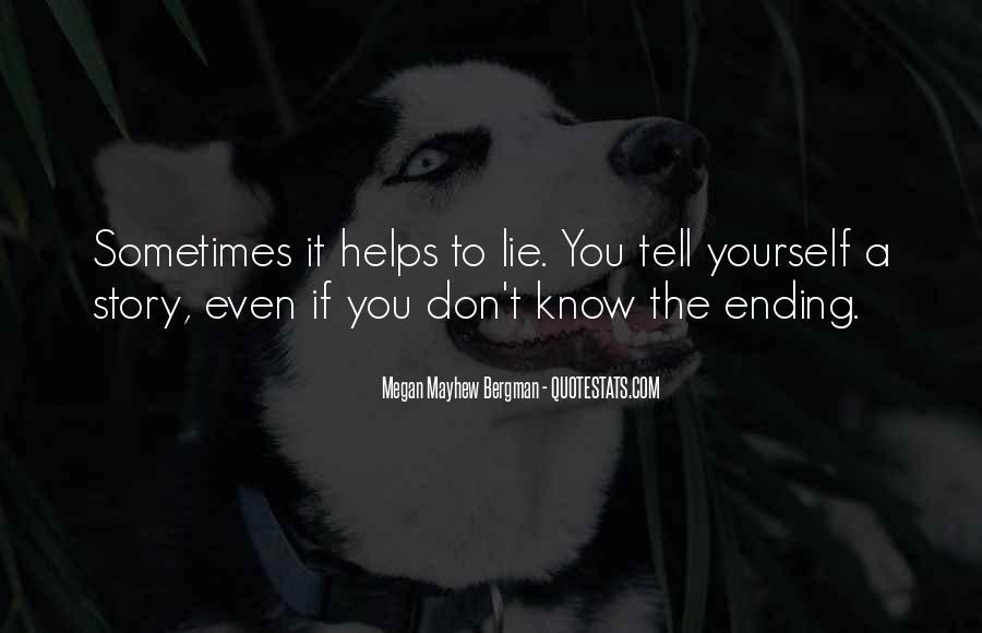 Mayhew Quotes #1400775