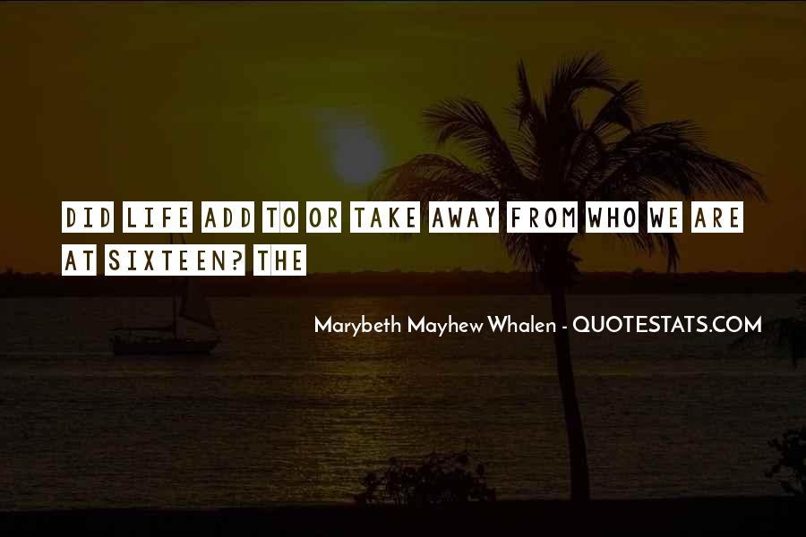 Mayhew Quotes #1631837