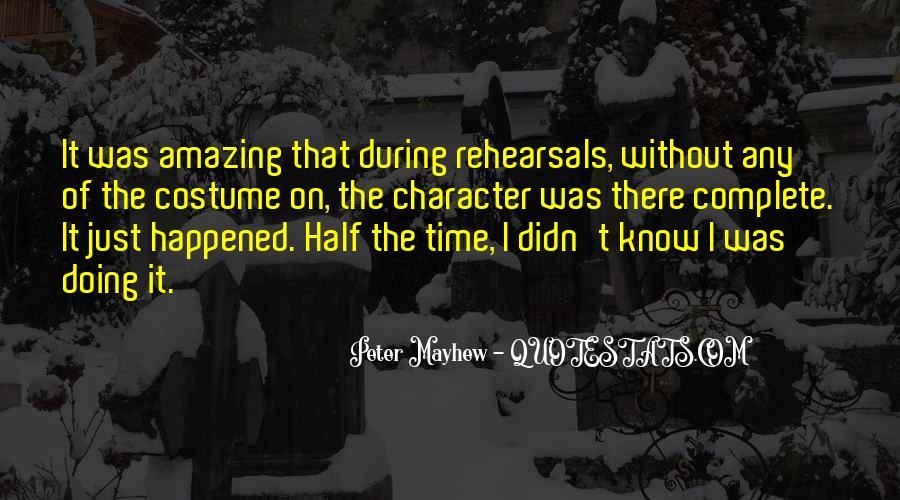 Mayhew Quotes #1710610