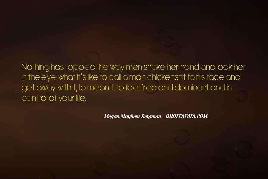 Mayhew Quotes #1761922