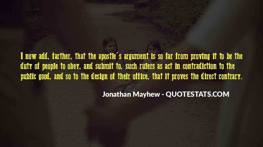 Mayhew Quotes #258118