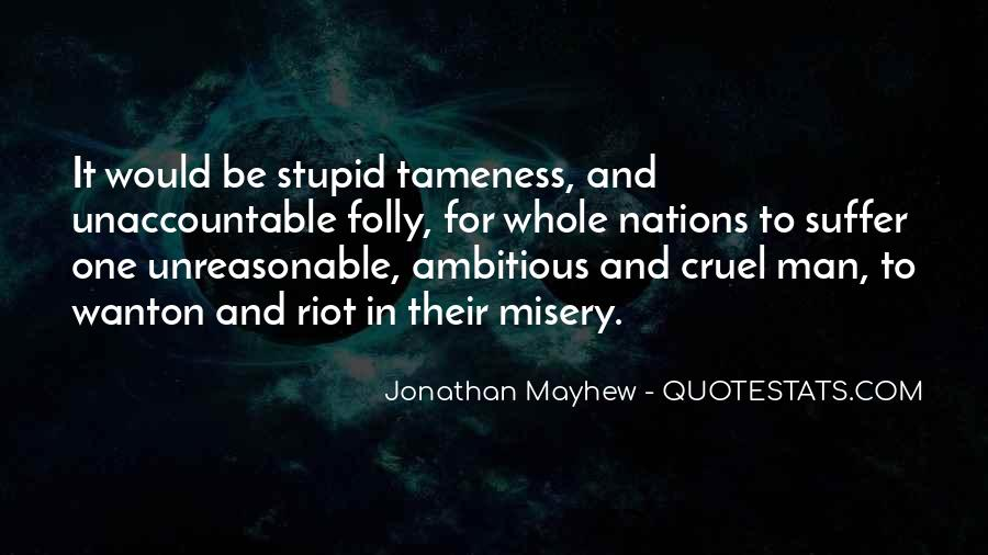 Mayhew Quotes #267821