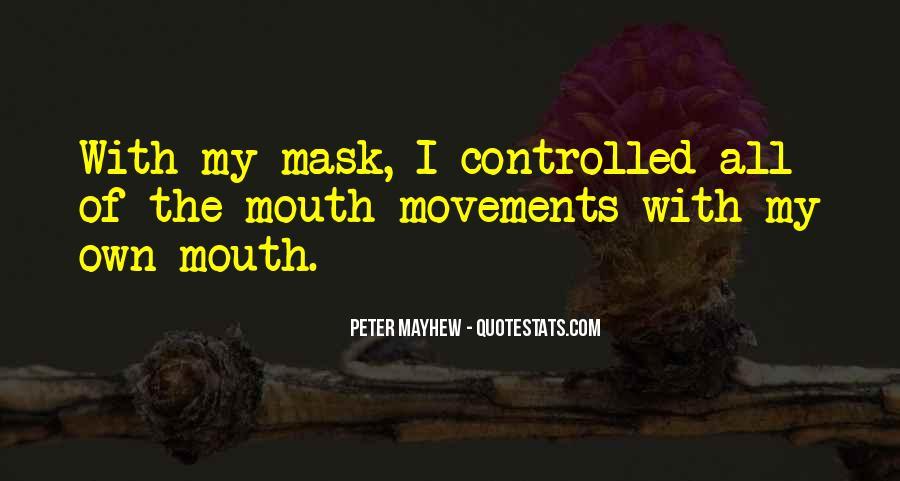 Mayhew Quotes #325552