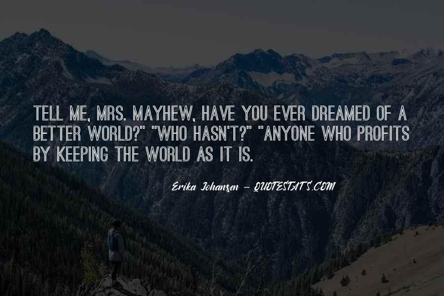 Mayhew Quotes #512169