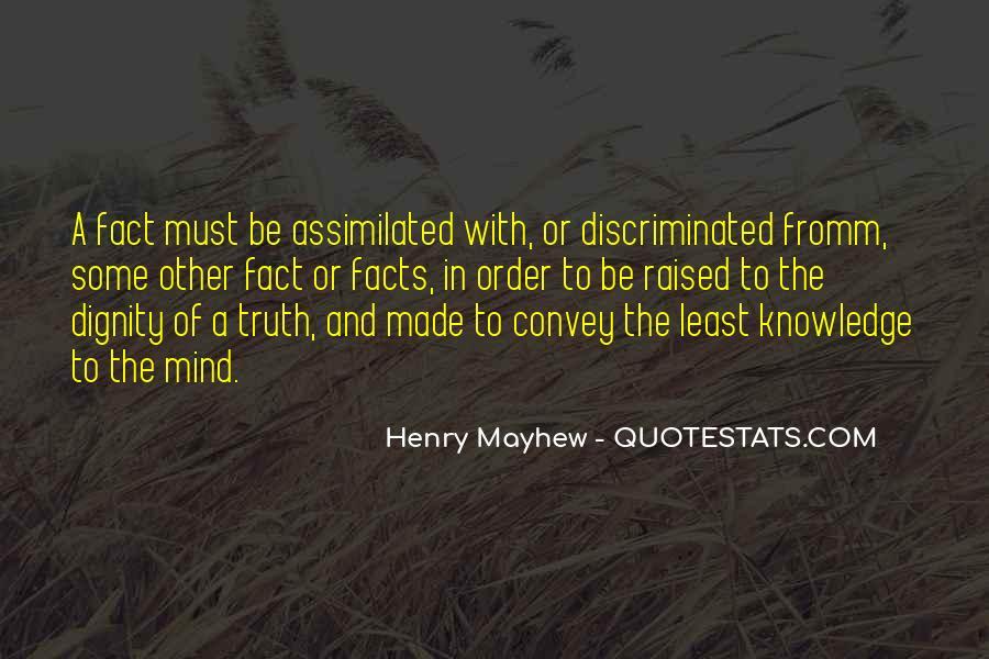 Mayhew Quotes #661728