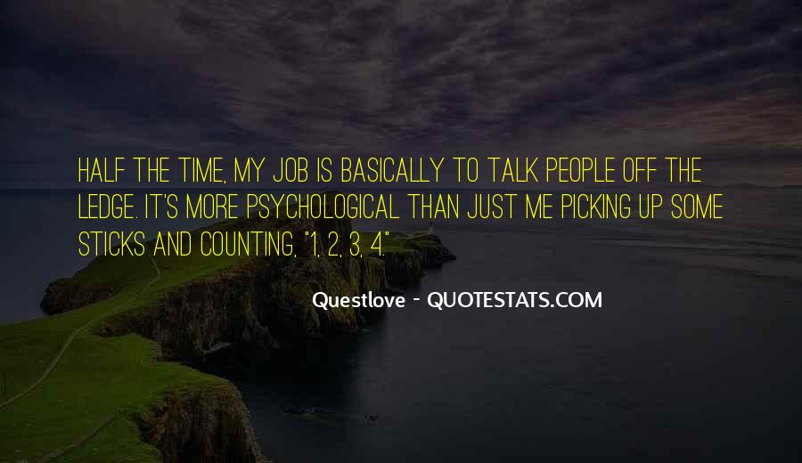 Quotes About Counting On Others #56521