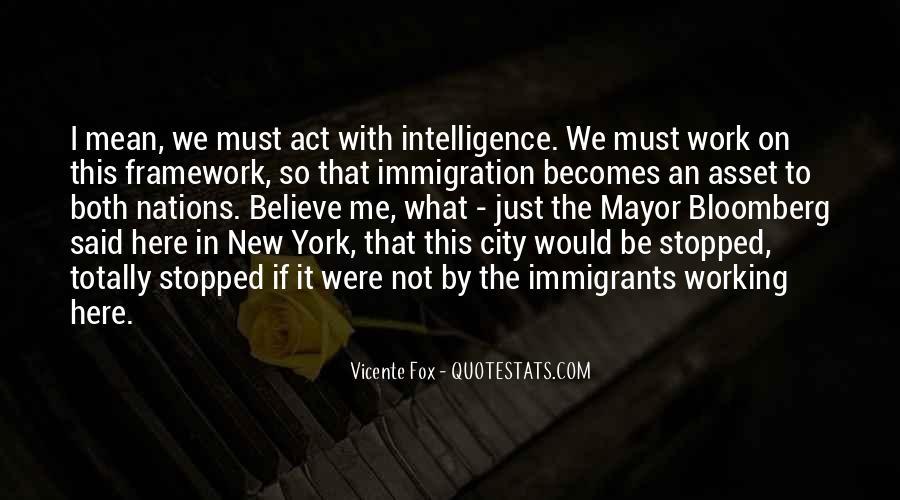 Mayor Bloomberg Quotes #1189051