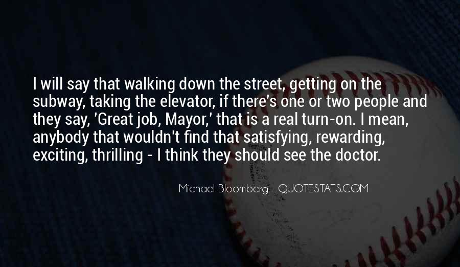Mayor Bloomberg Quotes #173143