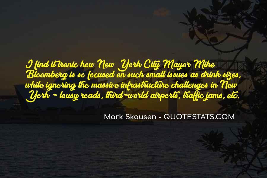 Mayor Bloomberg Quotes #235392