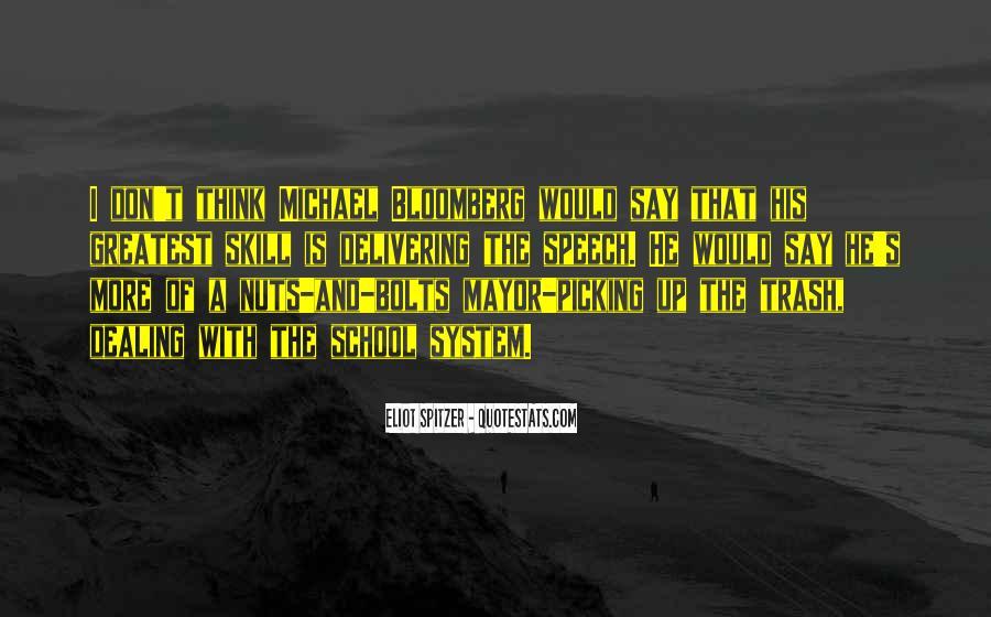 Mayor Bloomberg Quotes #410336