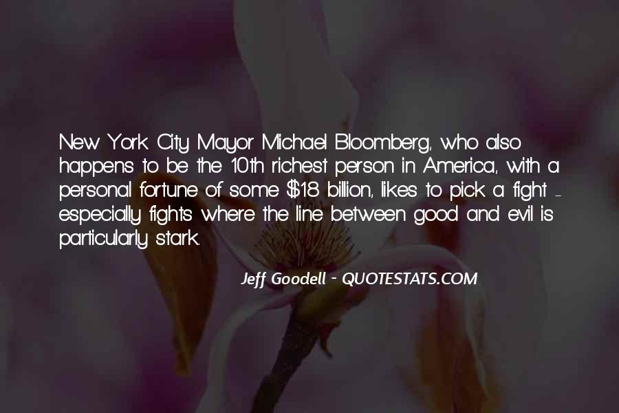Mayor Bloomberg Quotes #508829