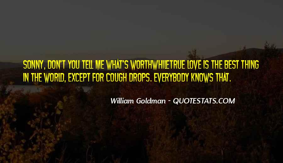Quotes About Cough Drops #68799