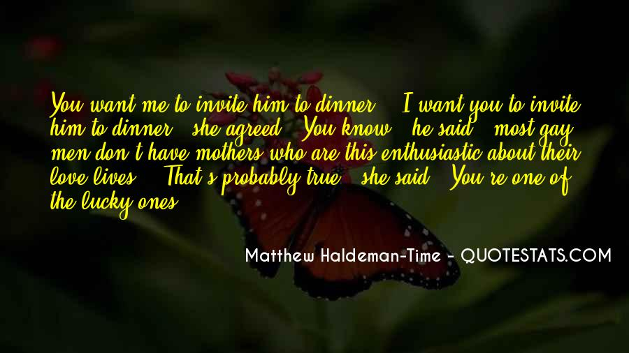 Me Love You Quotes #15897