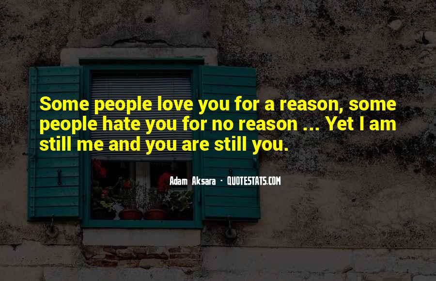 Me Love You Quotes #18761