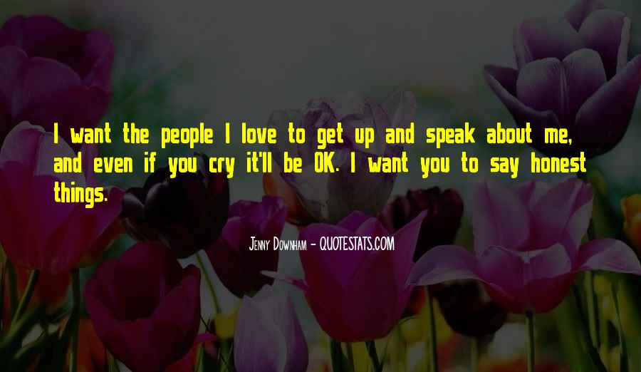 Me Love You Quotes #18929