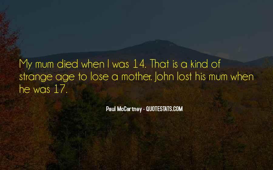 Me Myself And Mum Quotes #59450