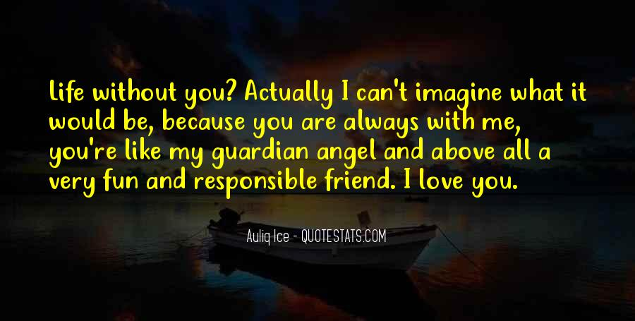 Me Without You Love Quotes #171134