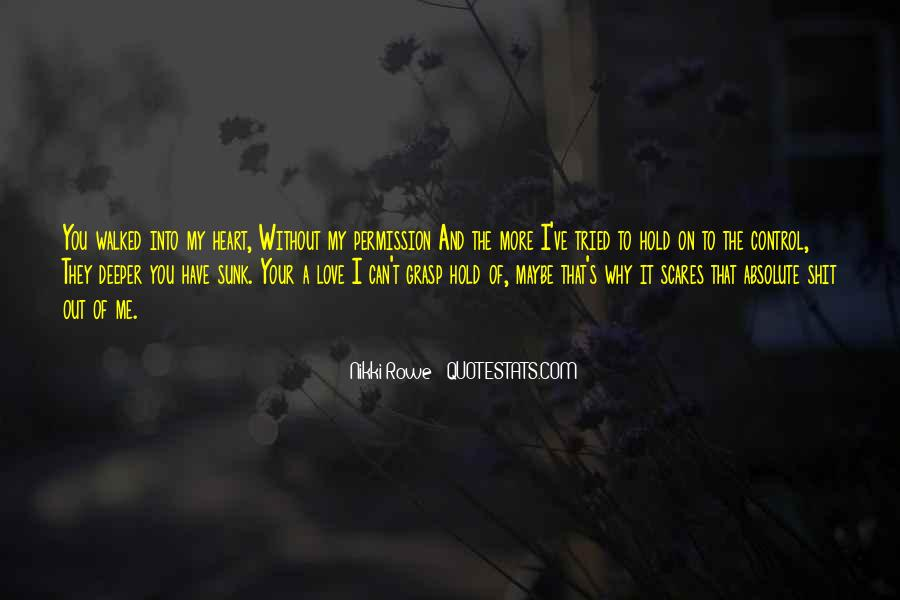 Me Without You Love Quotes #347046