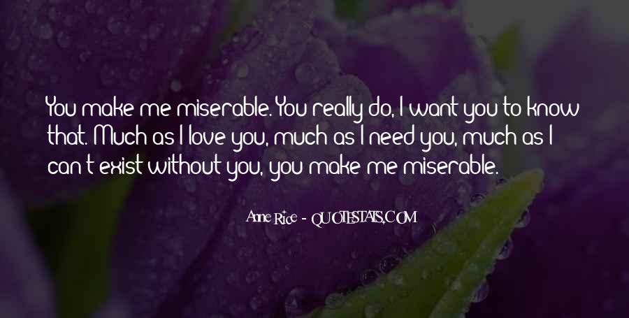 Me Without You Love Quotes #614109