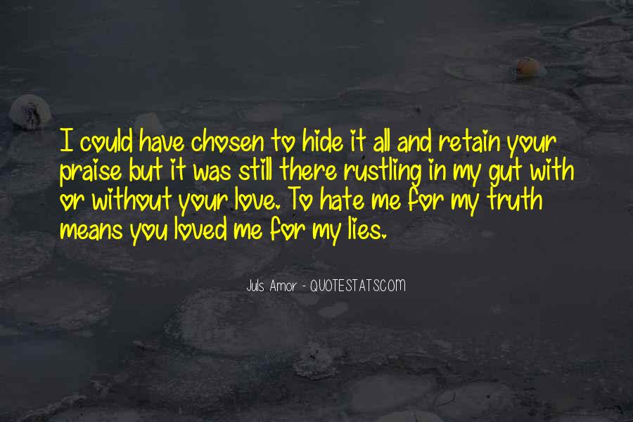 Me Without You Love Quotes #668828
