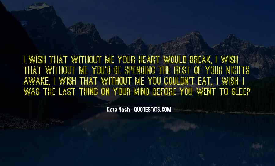 Me Without You Love Quotes #831020