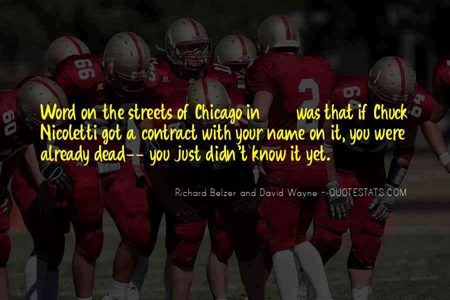 Mean Streets Quotes #4580