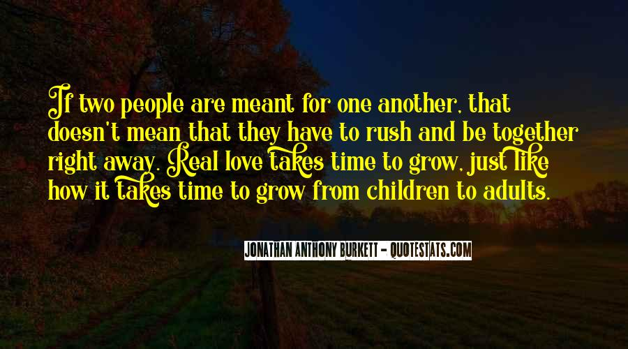Meant To Be Together Love Quotes #1499760