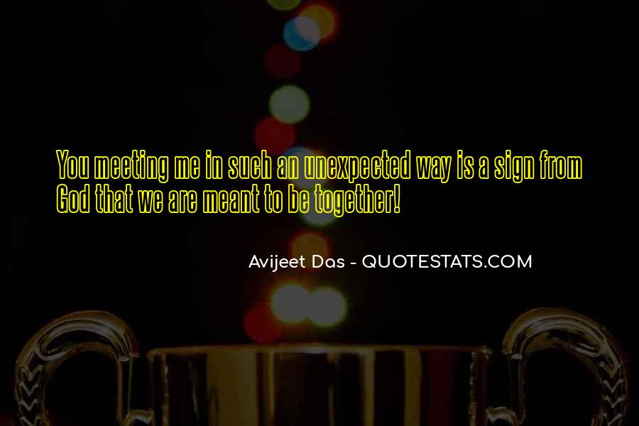 Meant To Be Together Love Quotes #1561166