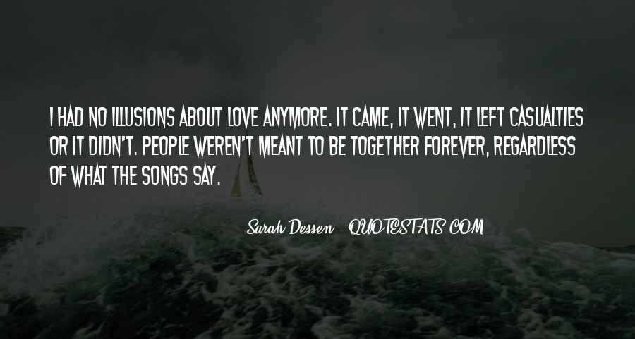 Meant To Be Together Love Quotes #988651