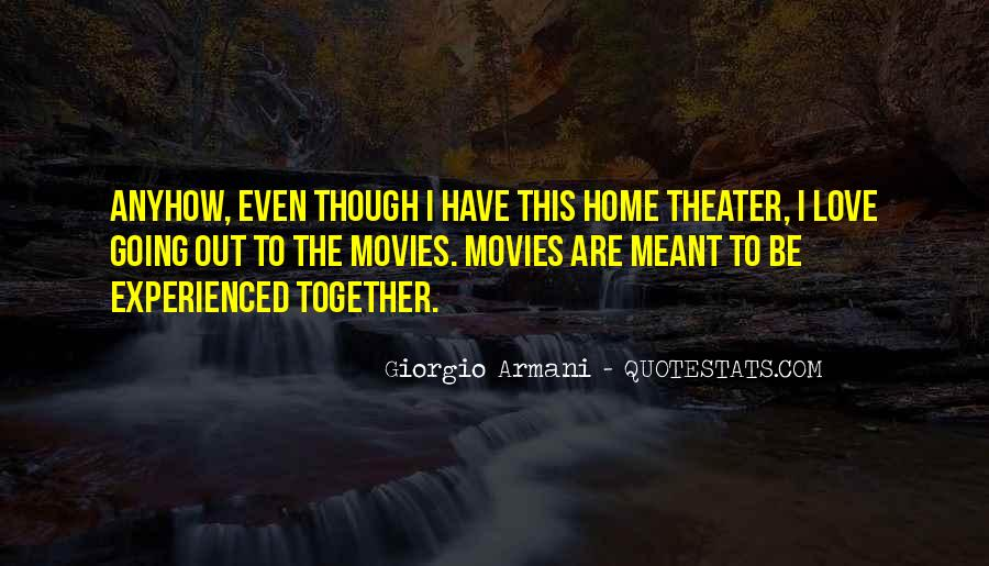 Meant To Be Together Love Quotes #999086