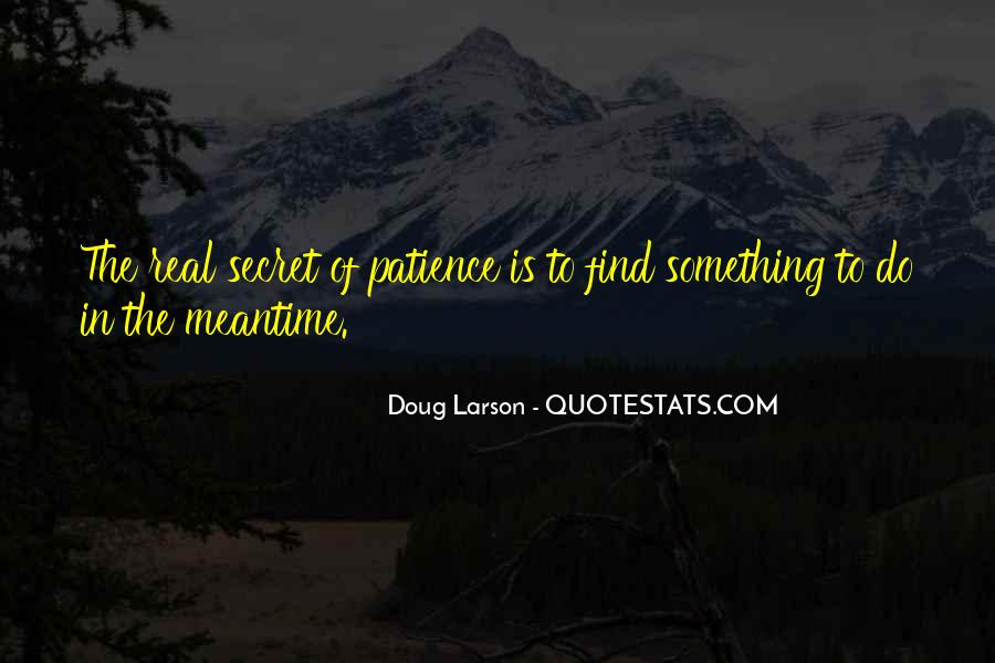 Meantime Quotes #824904