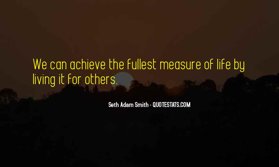 Measure Happiness Quotes #1007279
