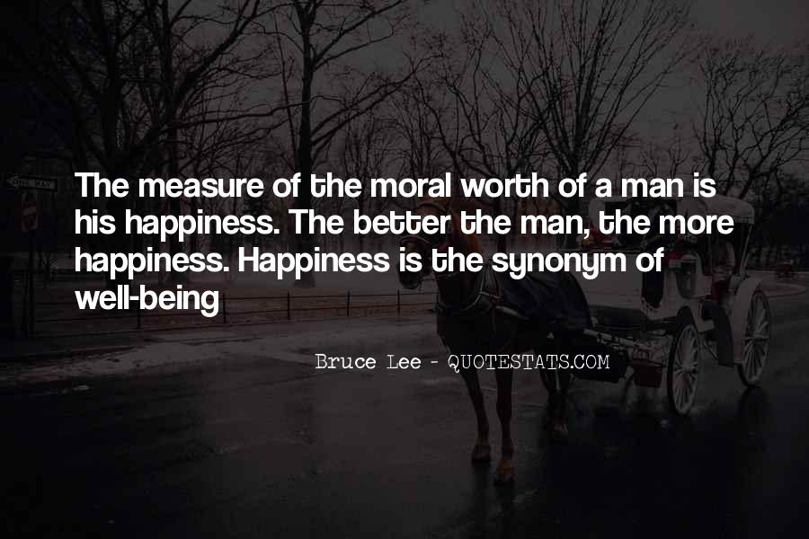Measure Happiness Quotes #1046230