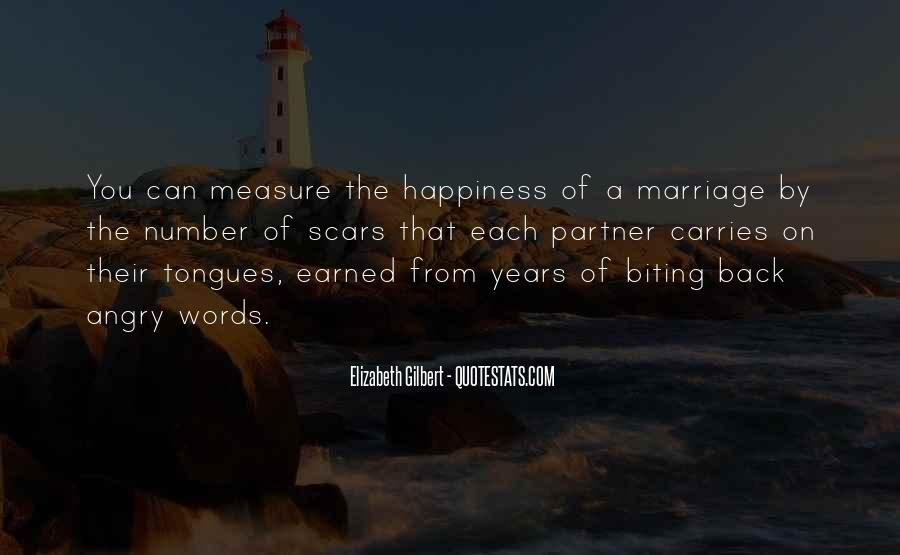 Measure Happiness Quotes #1135040
