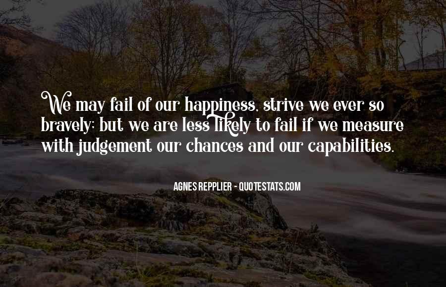 Measure Happiness Quotes #1491378