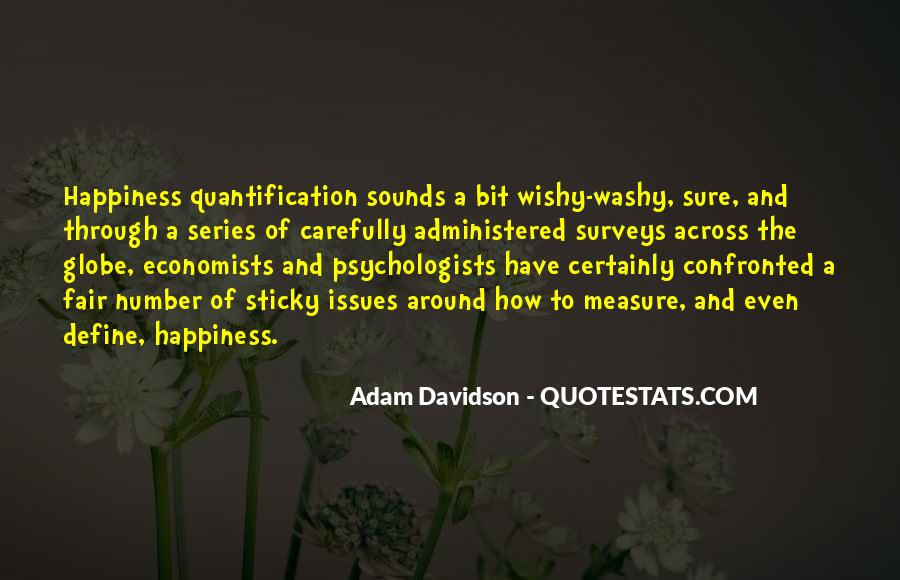 Measure Happiness Quotes #28503