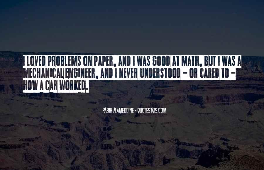 Mechanical Engineer Quotes #1018556