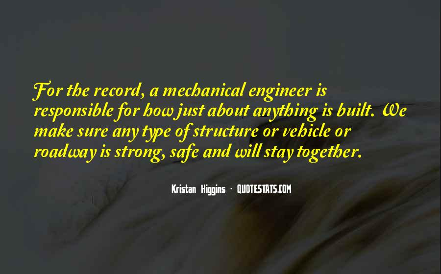 Mechanical Engineer Quotes #1757429