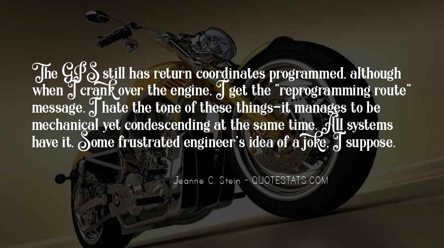 Mechanical Engineer Quotes #501726