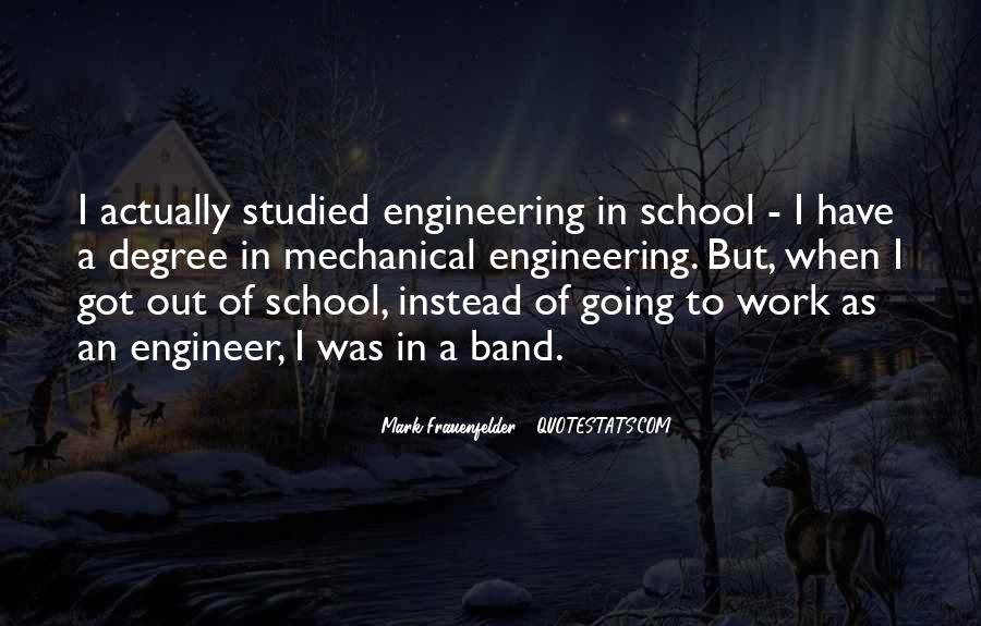 Mechanical Engineer Quotes #59126