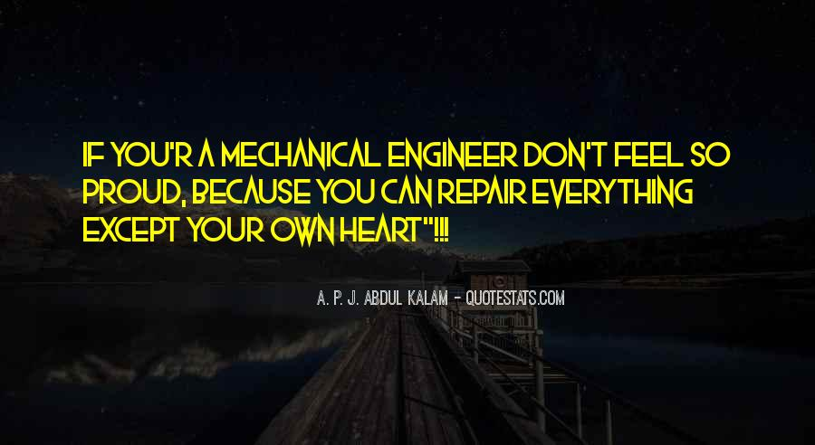 Mechanical Engineer Quotes #956759