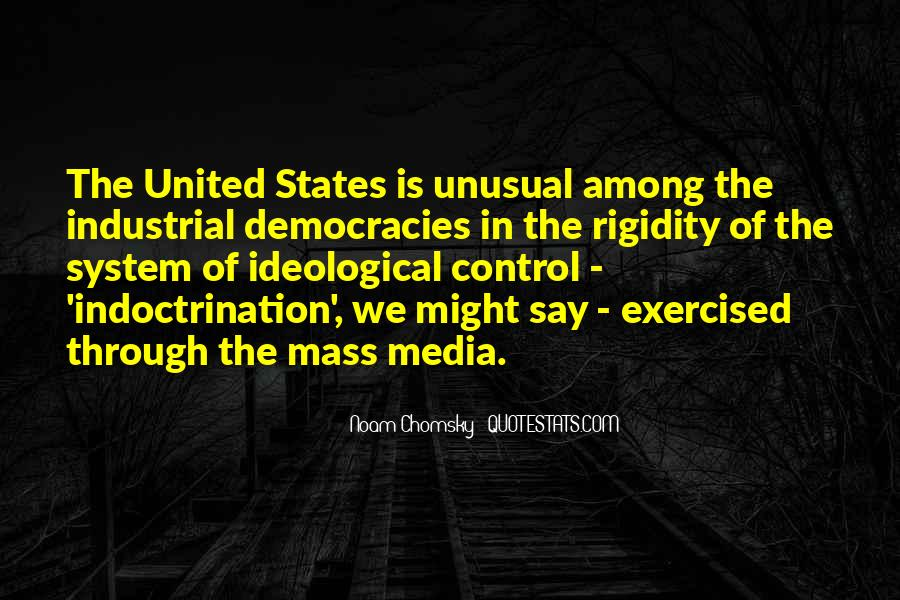 Media Control Chomsky Quotes #249240