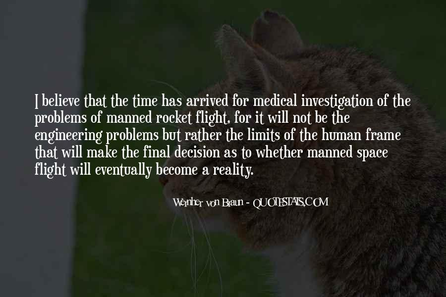 Medical Investigation Quotes #110381