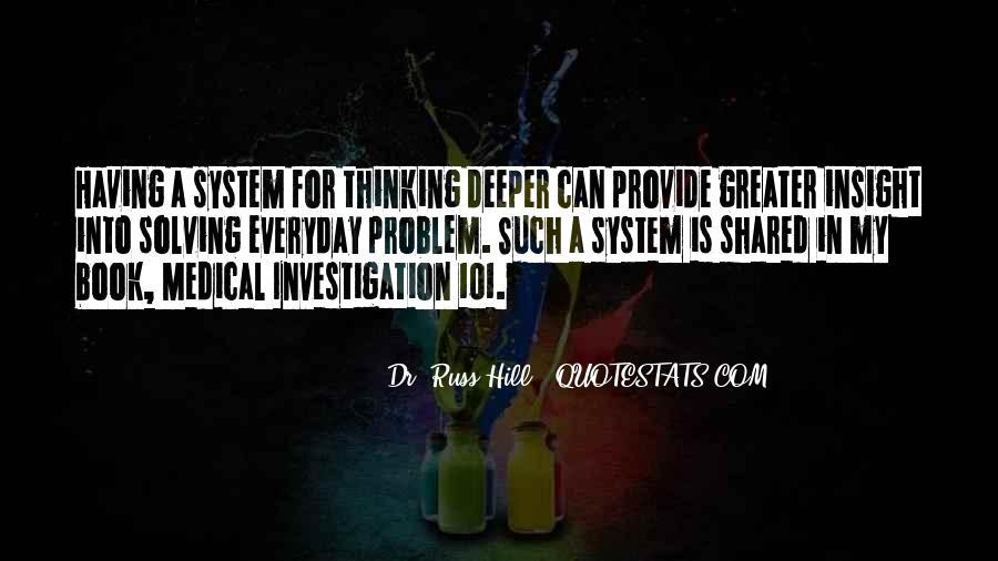 Medical Investigation Quotes #449405