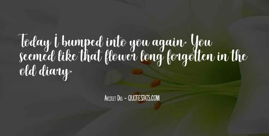 Meeting Old Love Quotes #1599146