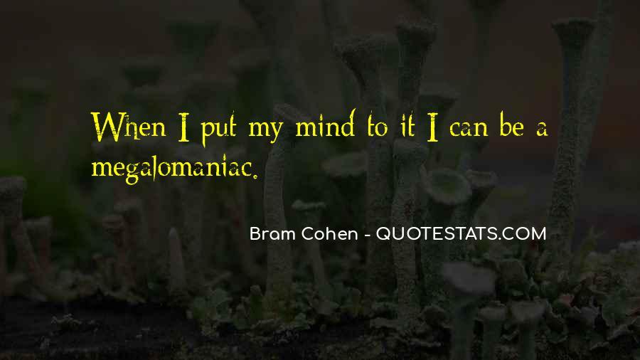 Megalomaniac Quotes #53484