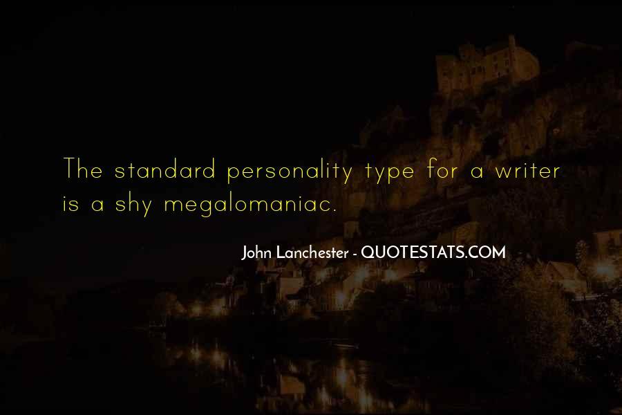 Megalomaniac Quotes #908554