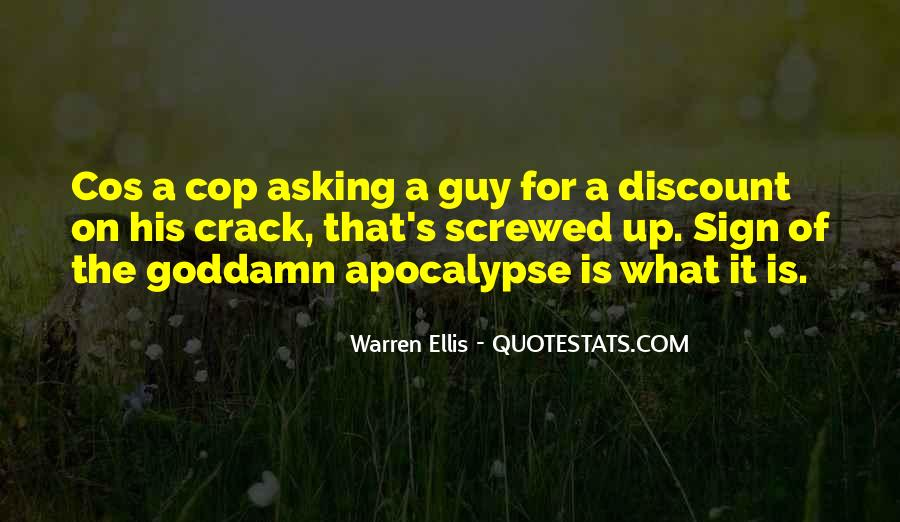 Quotes About Cop #190618