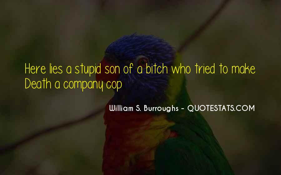Quotes About Cop #195582