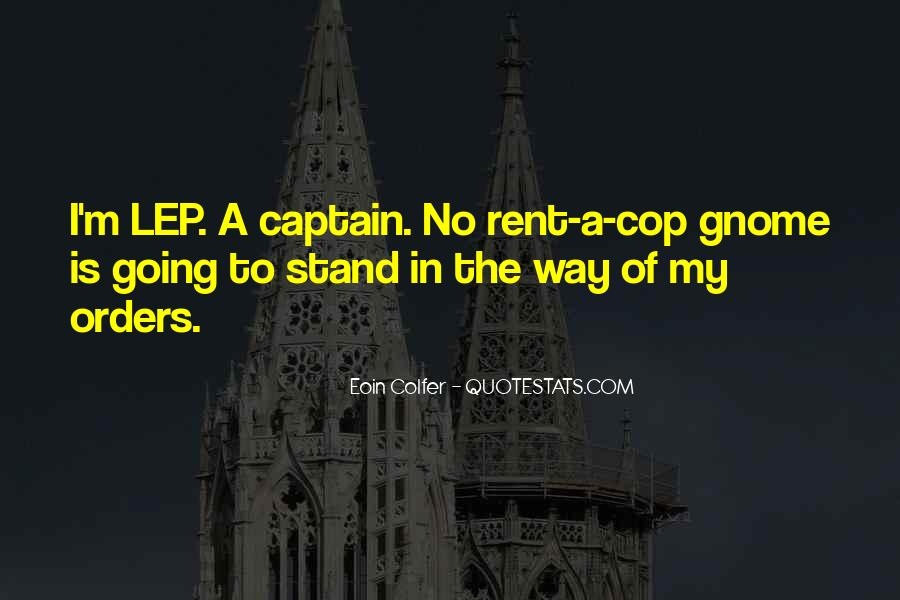 Quotes About Cop #265116